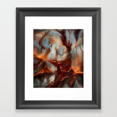 Bloodstained Mire Framed Art Print