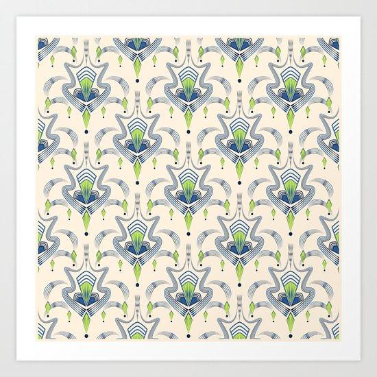 """Art Deco 34. """"Julia,"""" Art Print"""