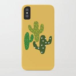 Cactus (Minimal) iPhone Case