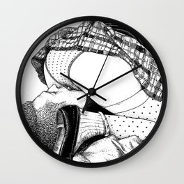 asc 714 - Les cours de soutien (Tutoring classes) Wall Clock