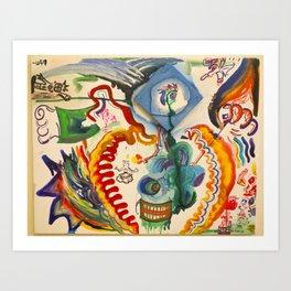 The Hero's Journey Art Print