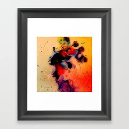At the tempo of the carnival Framed Art Print