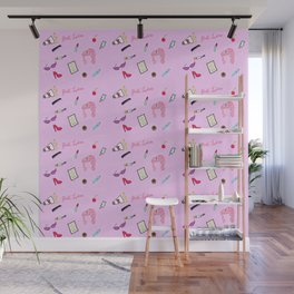 Diary of a Pink Lady Wall Mural