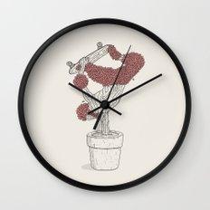 Handplant Wall Clock