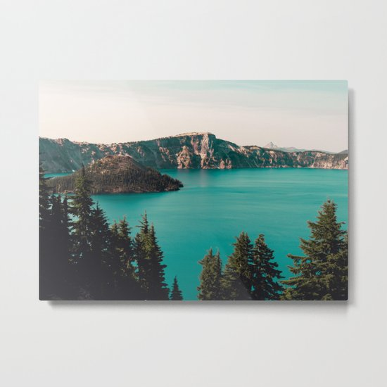 Dreamy Lake Metal Print
