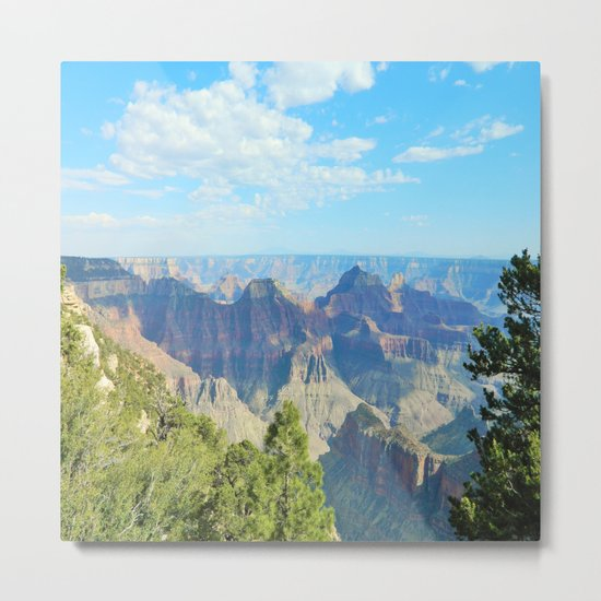 Grand Canyon Northern Rim Metal Print