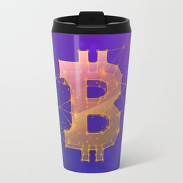 BITCOIN Galaxy Travel Mug
