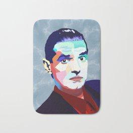 Portrait of Hans Holzel (Falco) Bath Mat