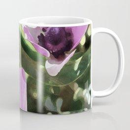 Three Spring Anemone Flowers Coffee Mug