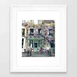 Au Vieux Paris Framed Art Print
