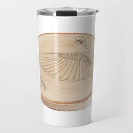 Bird Anatomy Wood Study Travel Mug