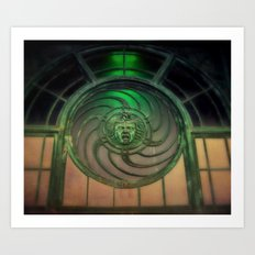 Carousel House Art Print