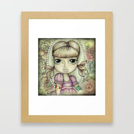 Pigtales and Tattoo's Framed Art Print