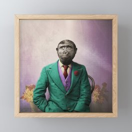 Bradley was a Young Gorilla with BIG Dreams Framed Mini Art Print