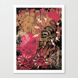 SHOCKING TERRORS Canvas Print