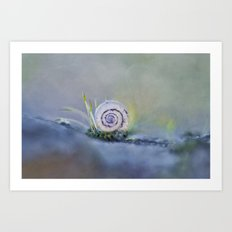 One moment in time Art Print