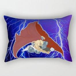 God of Lightning Rectangular Pillow