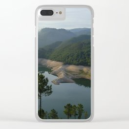 Geres river at sunrise Clear iPhone Case