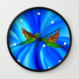 Through The Seasons Wall Clock