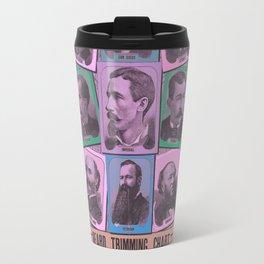 A Beard Trimming Chart Travel Mug