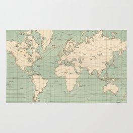 World Map Rugs Society6