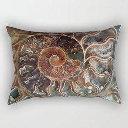 Fossilized Shell Rectangular Pillow