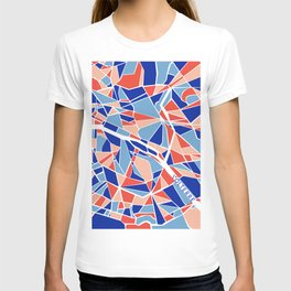 Paris Mosaic Map T-shirt