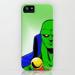 Martian Manhunter iPhone Case