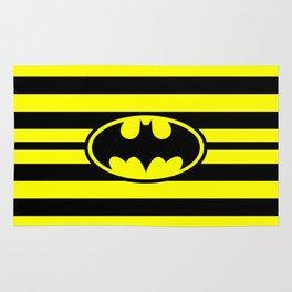 Bat Man Classic Stripes Rug