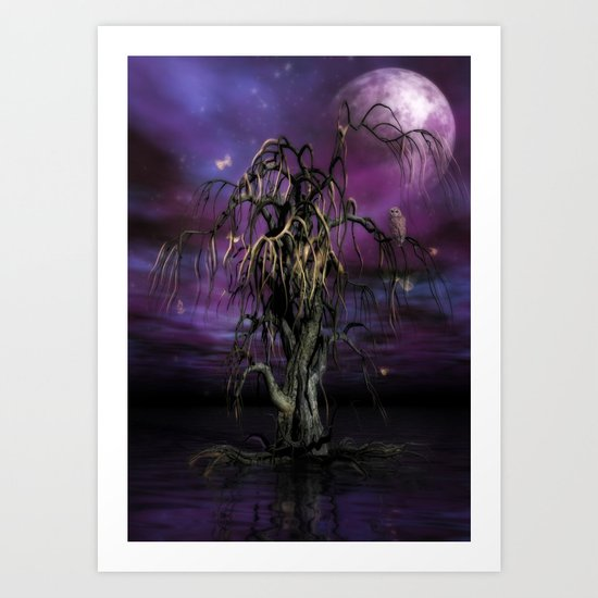 The Tree of Sáwols Art Print