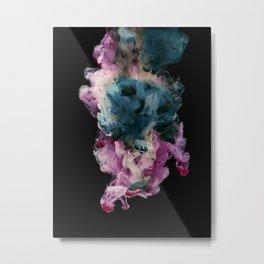 Colored Smoke Three Metal Print