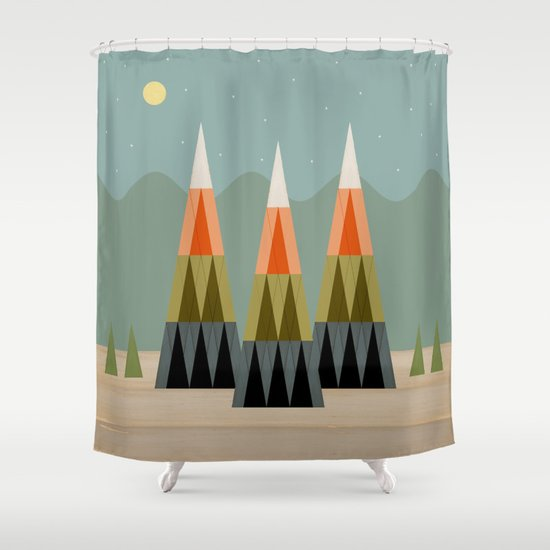 Clear Skies Shower Curtain By Tammy Kushnir Society6