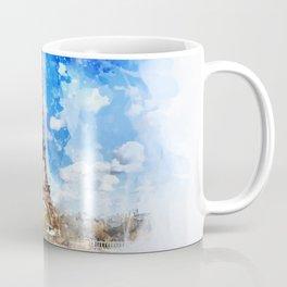Tour Effeil, Paris Coffee Mug