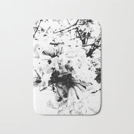 Nature in Black and White Bath Mat