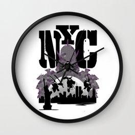 Enter The Shredder Wall Clock