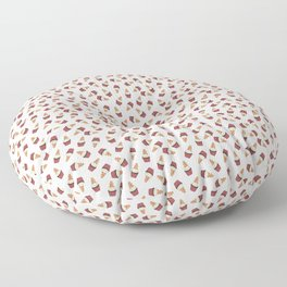 Gingerbread man Cupcake Floor Pillow