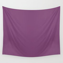 Grape Kiss Purple | Solid COlour Wall Tapestry