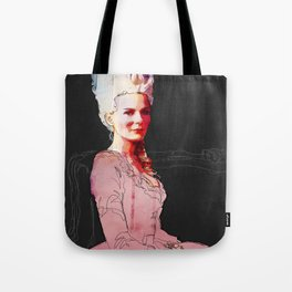 Kirsten Dunst as Marie Antoinette Tote Bag