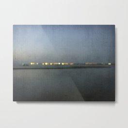 Coastline Metal Print