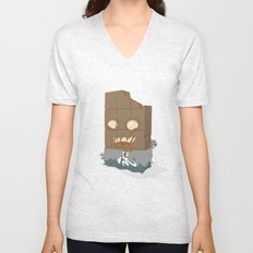 Zombie Crunch Bar Unisex V-Neck