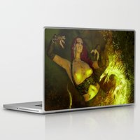 witchcraft Laptop & iPad Skins featuring Witchcraft by Pinturero
