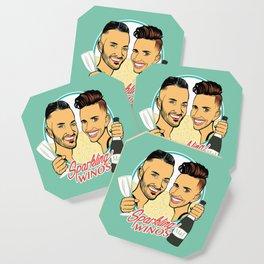 Sparkling Winos Coaster