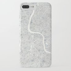 City Map London watercolor map iPhone 7 Plus Slim Case