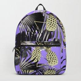 Tropical Pineapple Jungle Geo #4 #tropical #summer #decor #art #society6 Backpack