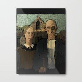 American Gothic - 211 Metal Print