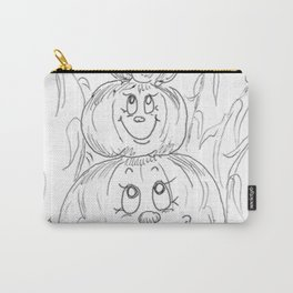 Pumpkin Totem Carry-All Pouch