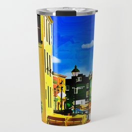 Fells Point Square, Baltimore, Maryland Travel Mug