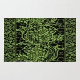 Greenery Lace Rug