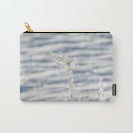 Sparkling Scandi hoar frost Carry-All Pouch