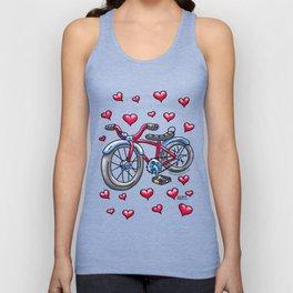 Bike Love Unisex Tank Top